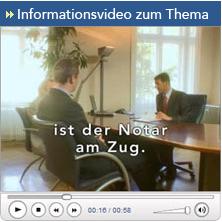 Informationsvideo zum Thema Unternehmensvorsorge