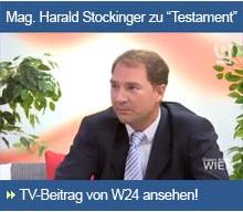 TV-Beitrag Testament beim Notar
